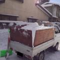 盛岡市内の駐車場管理人様から排雪の依頼